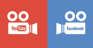 Video trên Facebook và Youtube